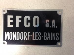 Logo EFCO ancien.